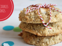 Vegane Cookies: Rezept für Kokos-Kekse