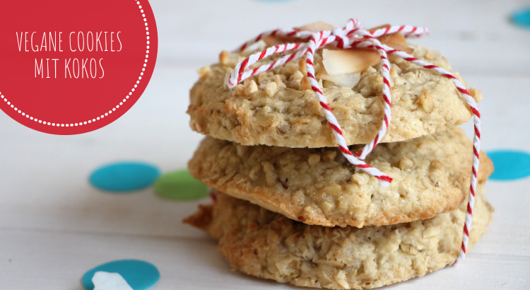 vegane Cookies mit Kokos Rezept