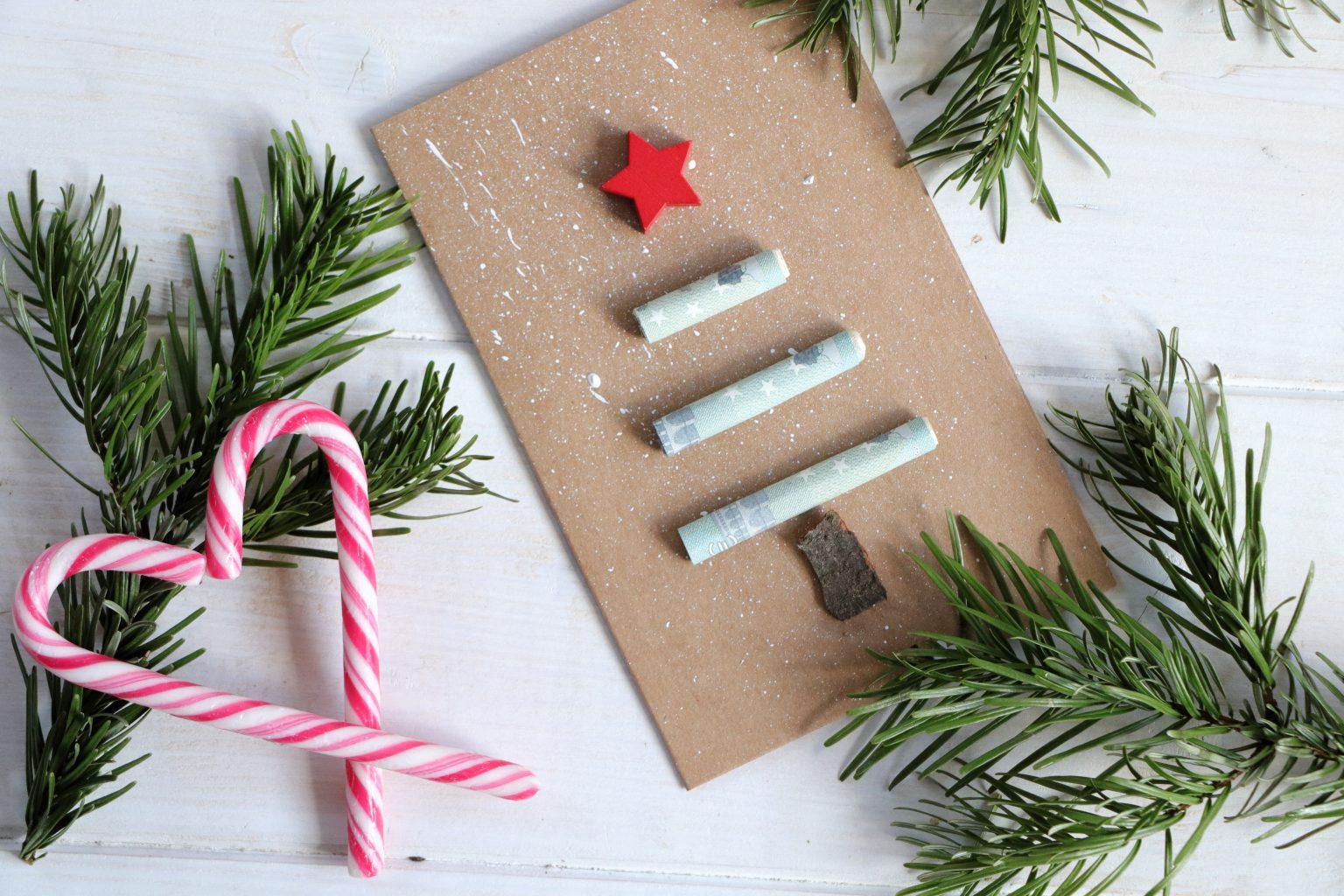 Geldgeschenk Weihnachten Idee