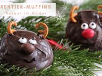 Rentier-Muffins: Rezept für Kinder