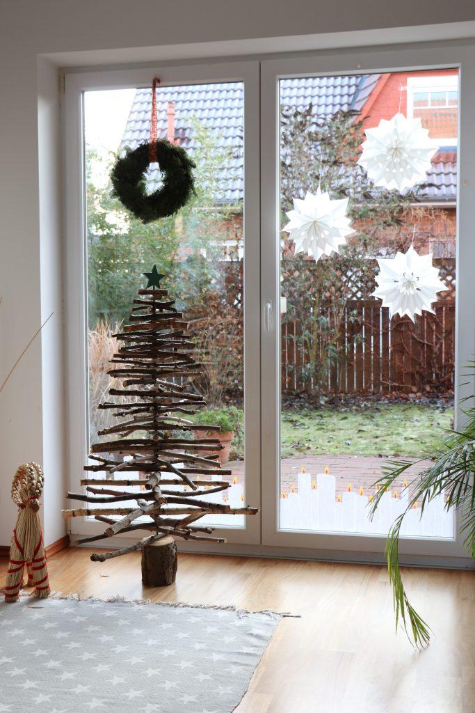 Transparentpapier Fensterbilder Weihnachten