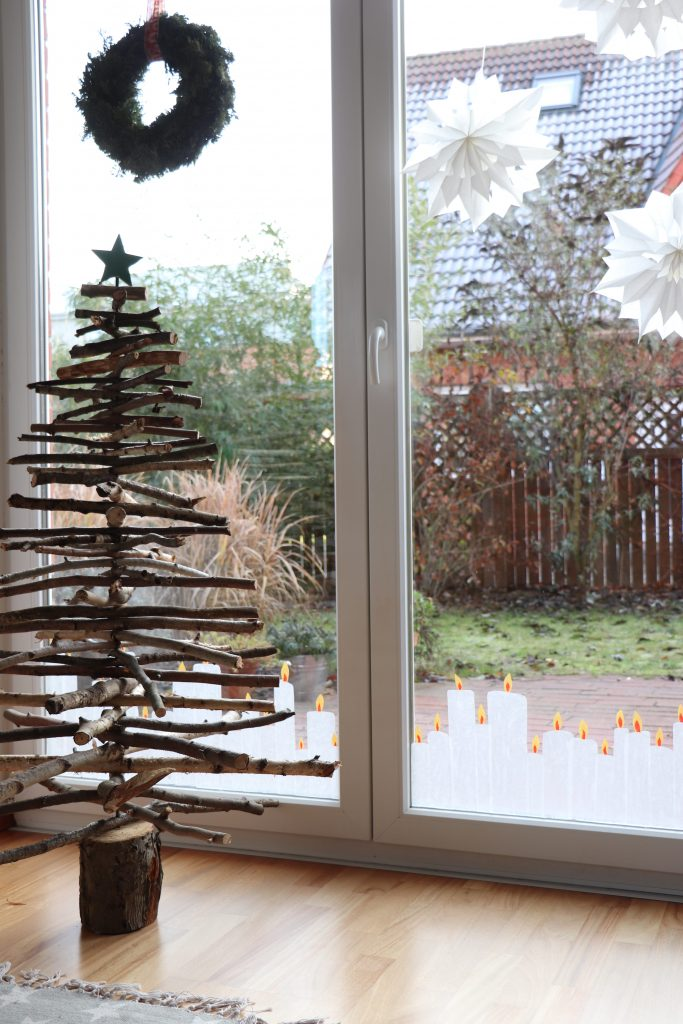 Transparentpapier Kerzen DIY