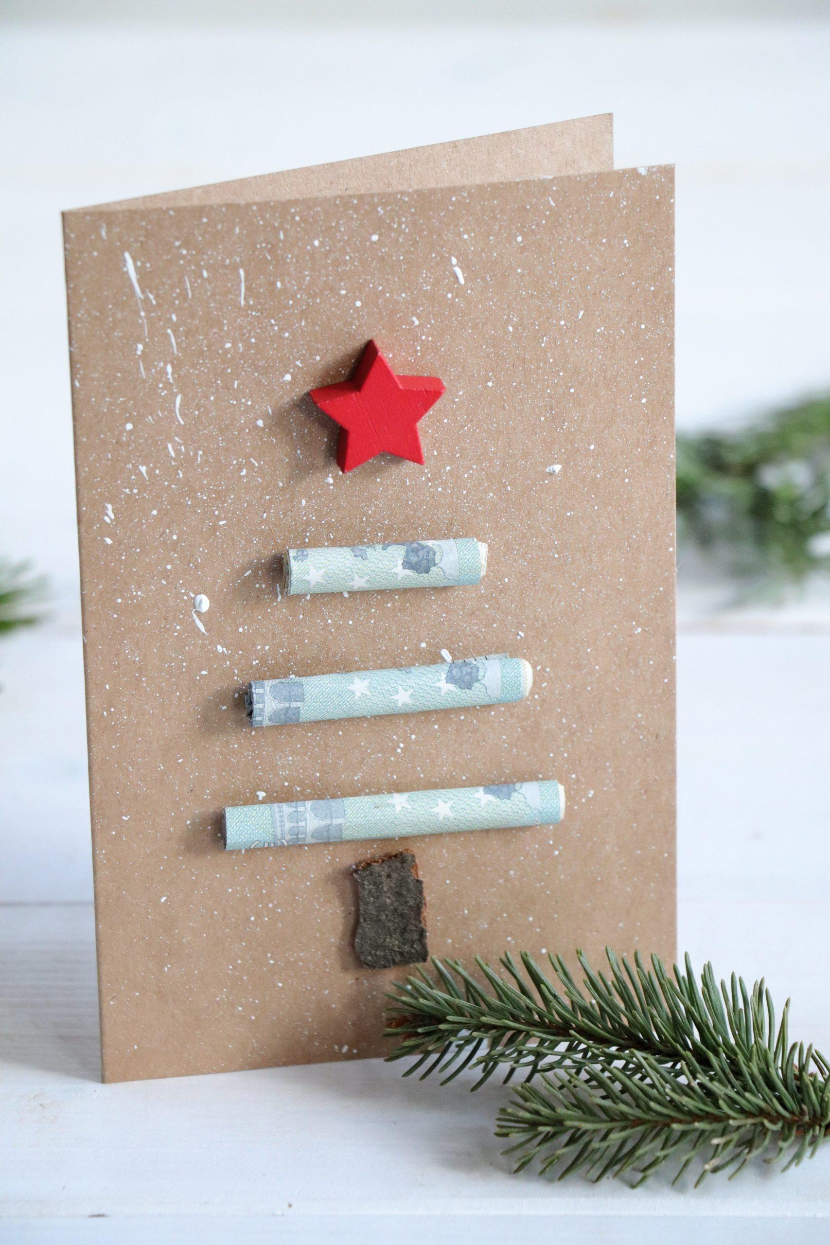 Weihnachten Geld verschenken Idee - Lavendelblog