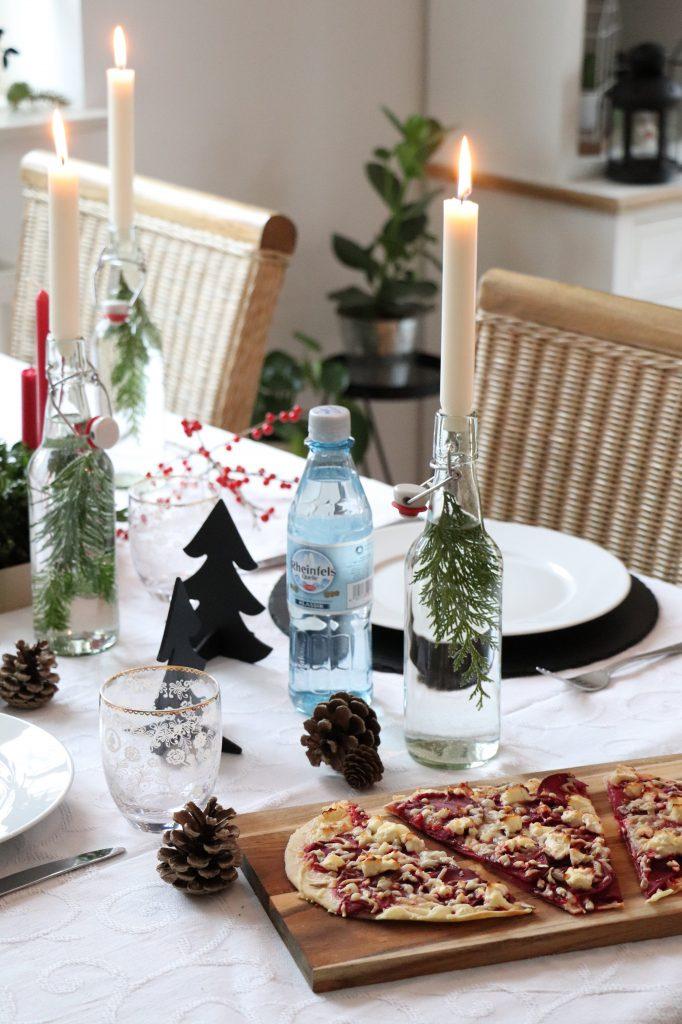 weihnachtliche Tischdeko Ideen