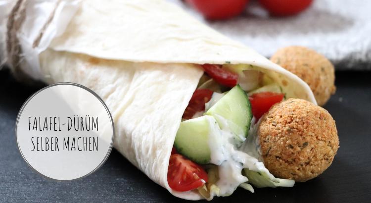 Falafel-Dürüm vegetarisch