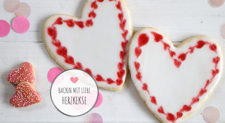 Herzkekse Rezept Valentinstag