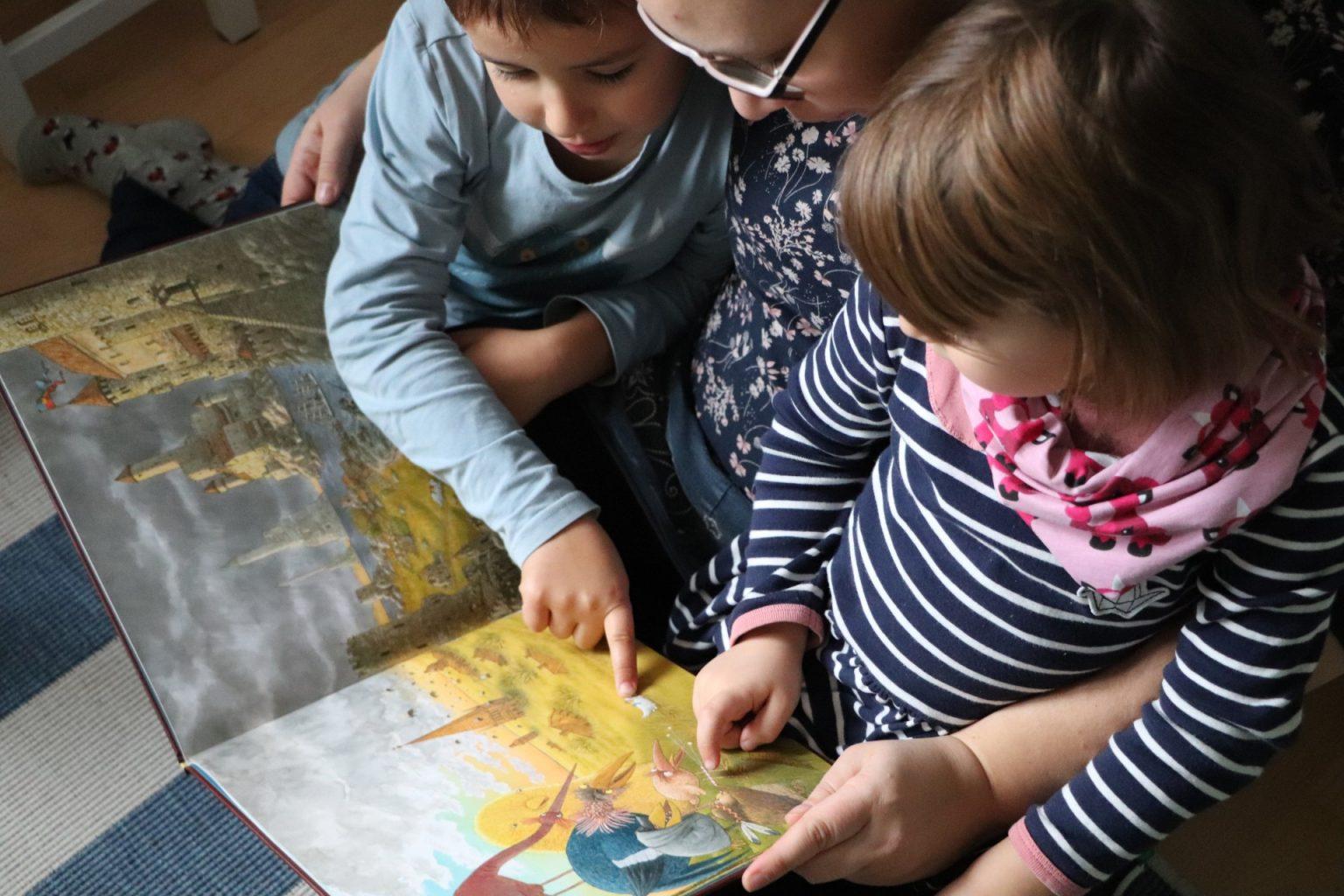 Kinderbuch Empfehlung textloses Bilderbuch