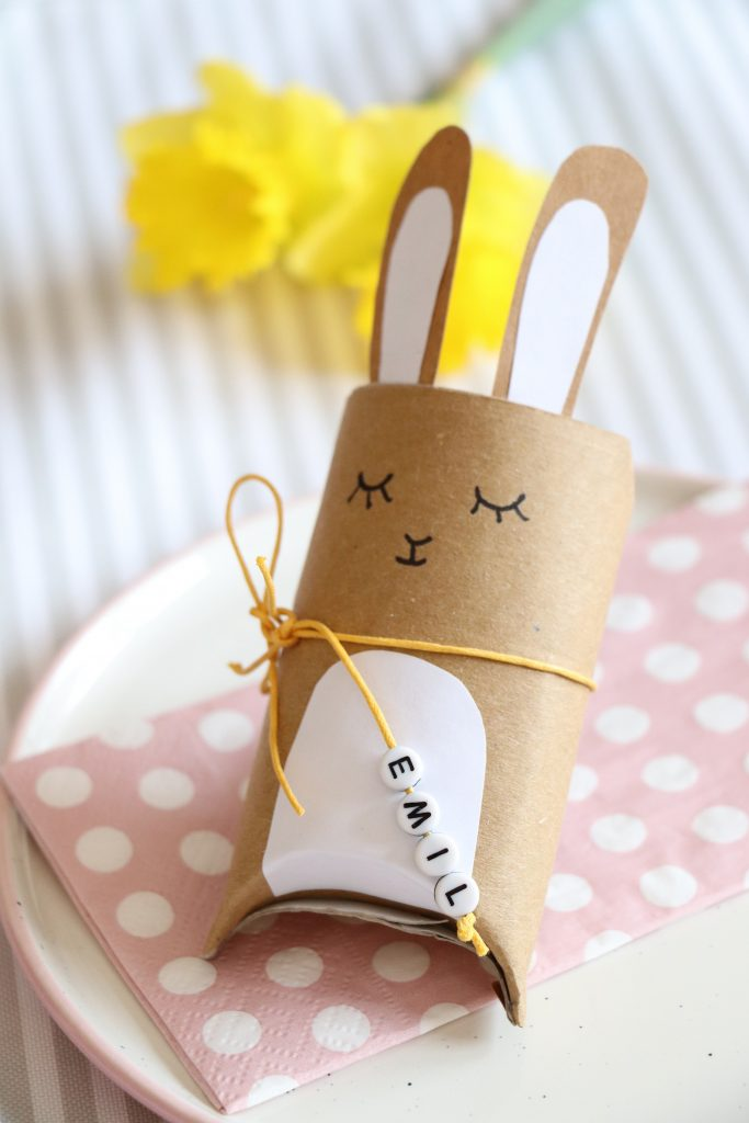 Bastelidee Ostern Geschenkschachtel