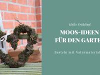 Moos-Ideen für den Garten: Moosherz binden und Backform bepflanzen