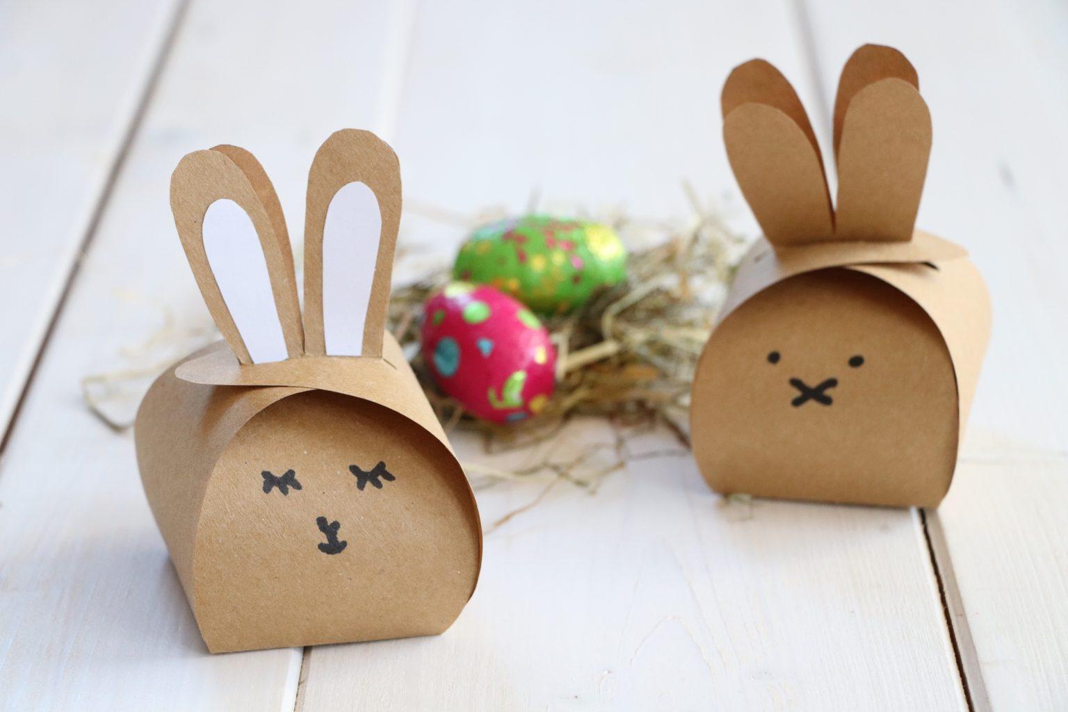 Hase Geschenkschachtel Ostern