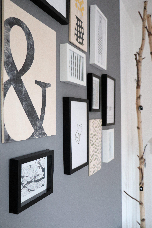 Ideen Bilderwand Aufhängen Lavendelblog