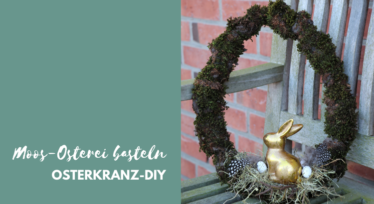 Diy Osterkranz Basteln Mit Moos Lavendelblog