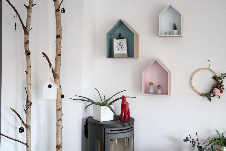 Wohnzimmer-Bilderwand: Skandinavisch, Schlicht Und Hygge