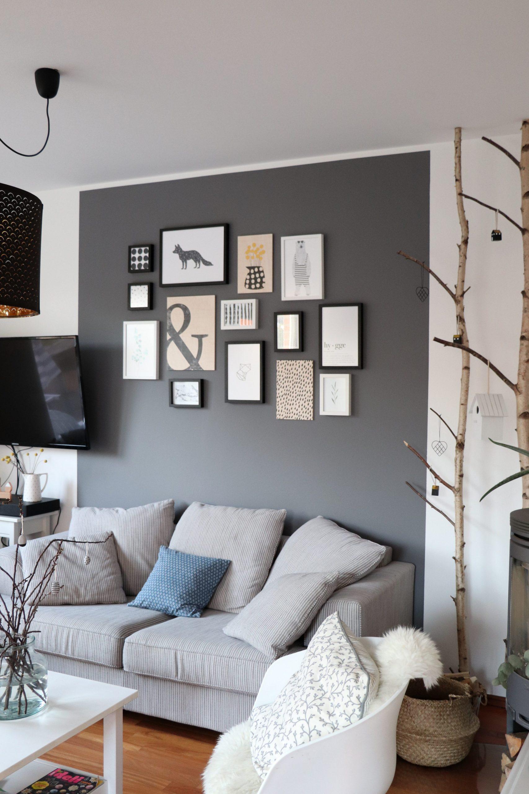 skandinavisches Design Wohnzimmer - Lavendelblog