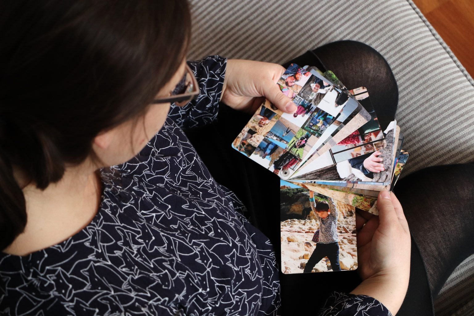 Fotogeschenk Idee Oma und Opa fingerbook