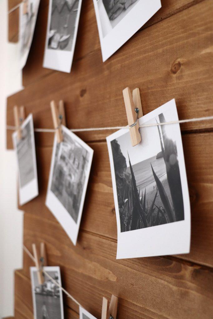 Fotowand Polaroid