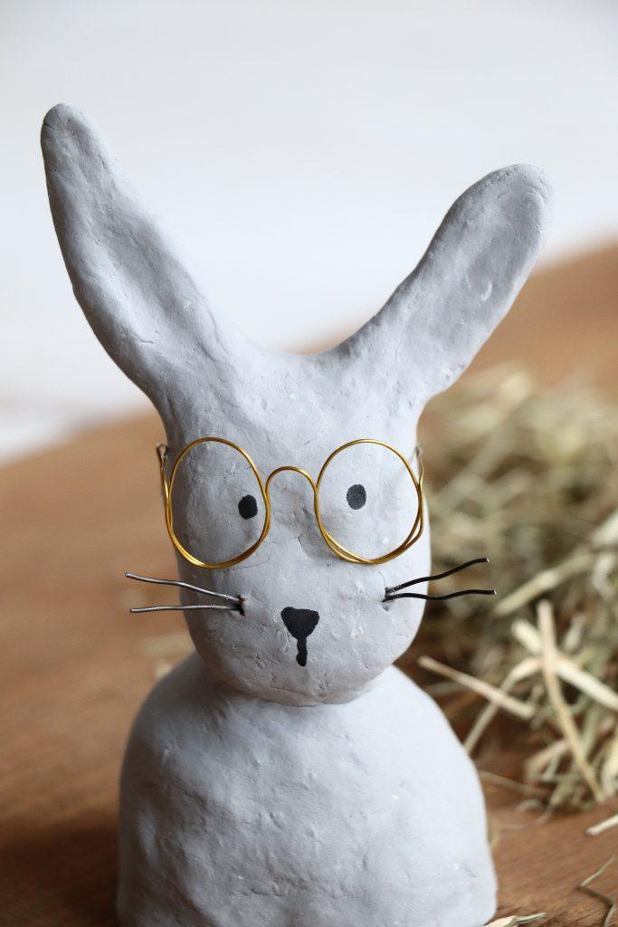 Hase mit Brille DIY