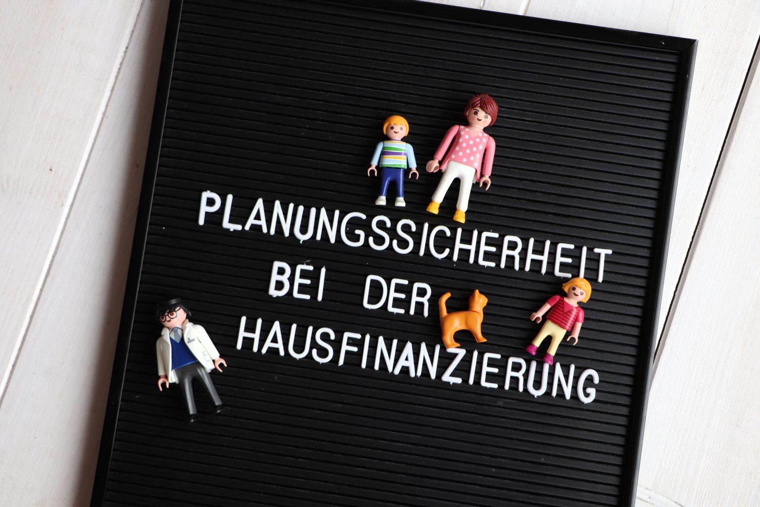 Planungssicherheit Anschlussfinanzierung Allianz