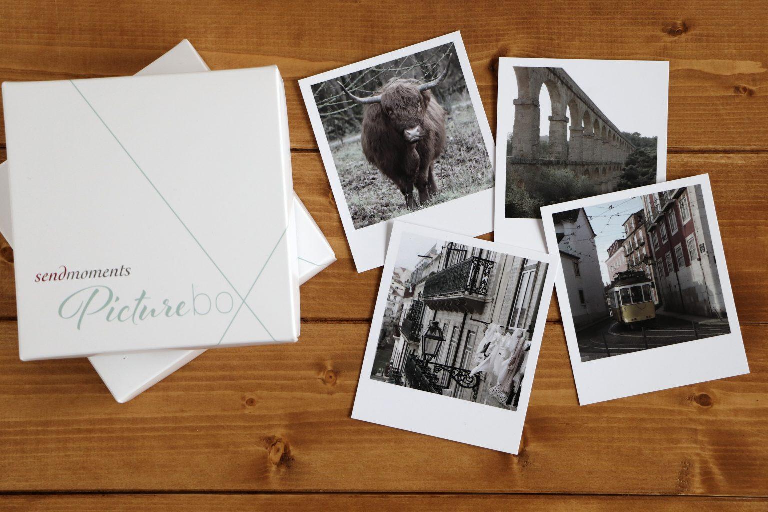 Polaroidfotos erstellen sendmoments