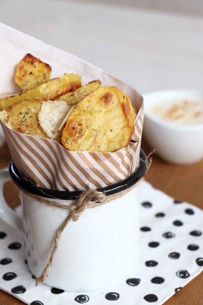 Rezept Backkartoffeln mit Parmesan