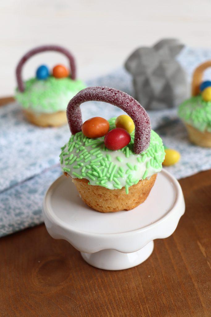 Muffins österlich dekorieren