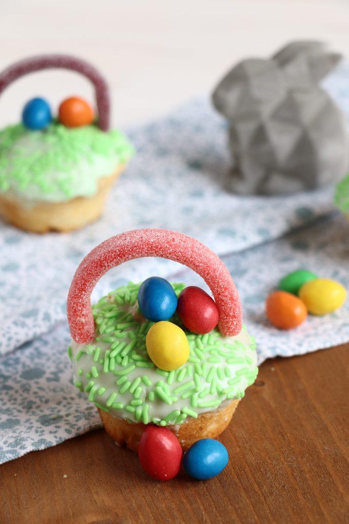 Osterkörbchen Muffins Rezept