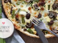 Rezept: Spargeltarte – vegetarisch genießen