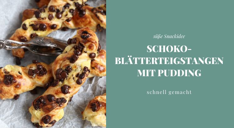 Blätterteig Pudding