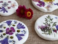 Raus in die Natur: Basteln mit Naturmaterialien – Salzteig-Mandalas