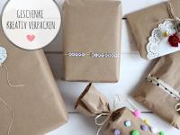 Packpapier: Geschenke kreativ verpacken