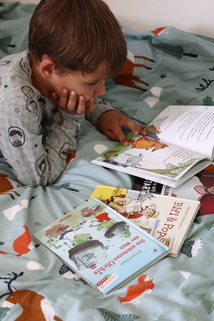 Leseanfänger geeignete Bücher