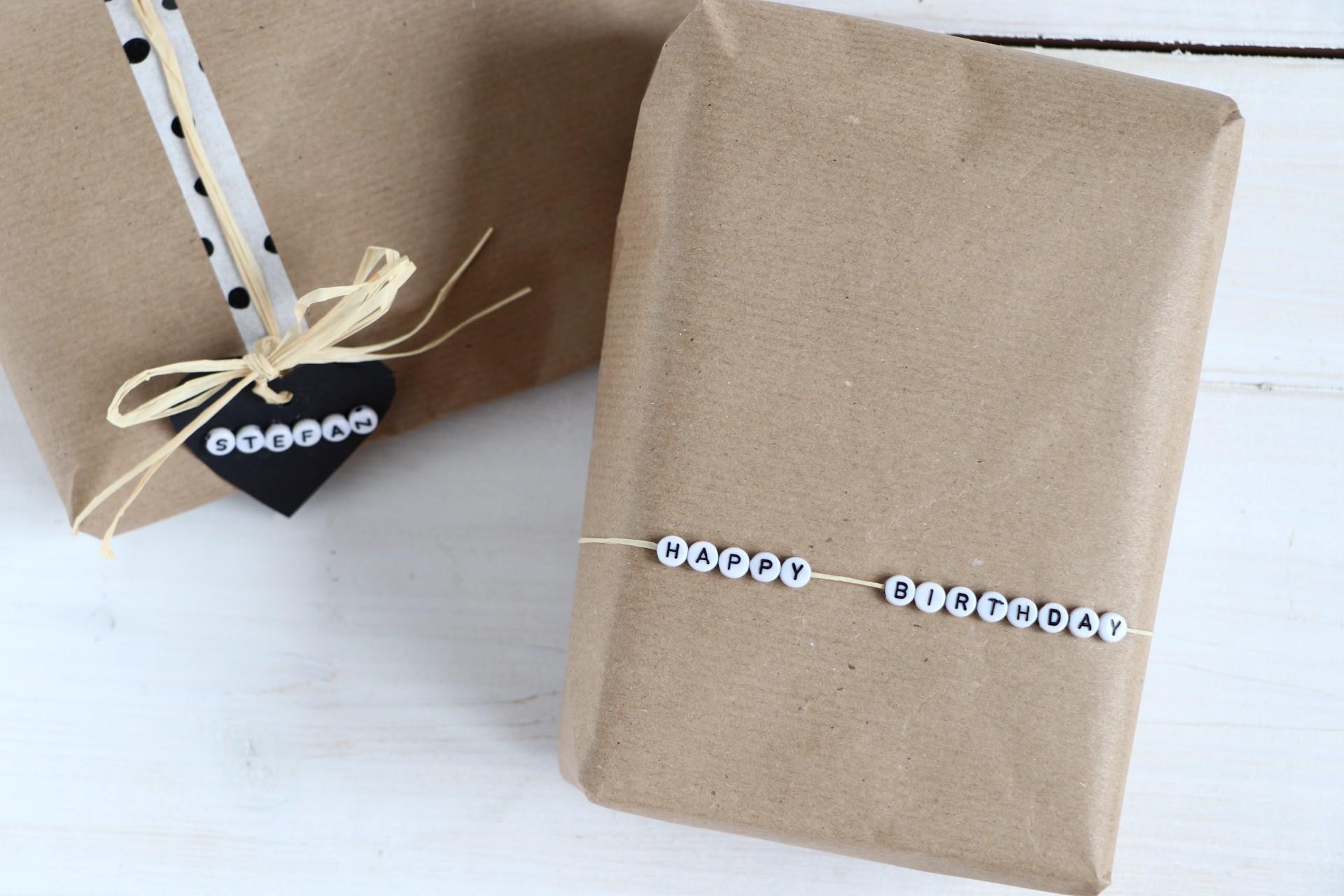 Geschenke Verpacken Geburtstag Lavendelblog