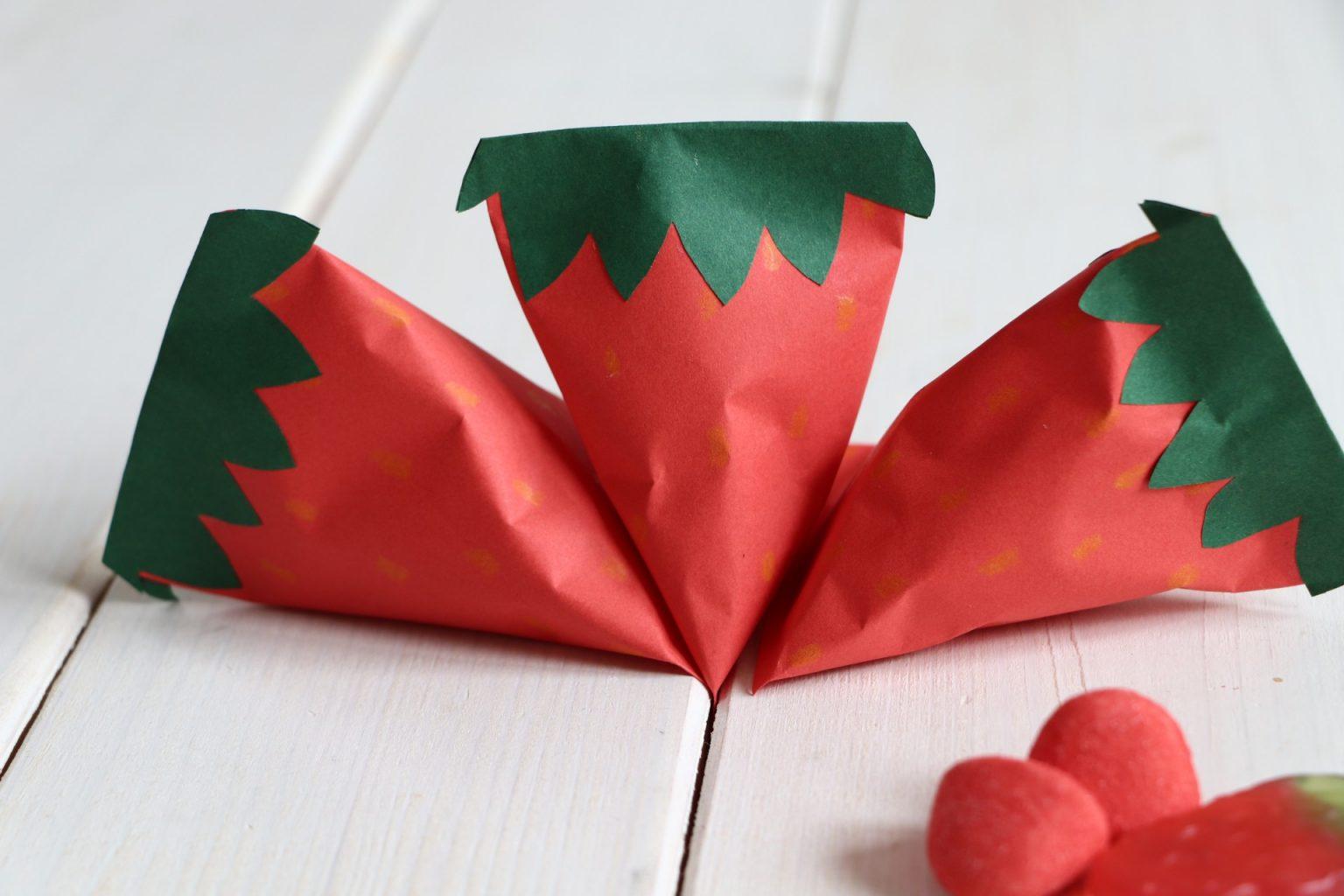 Erdbeerparty Deko