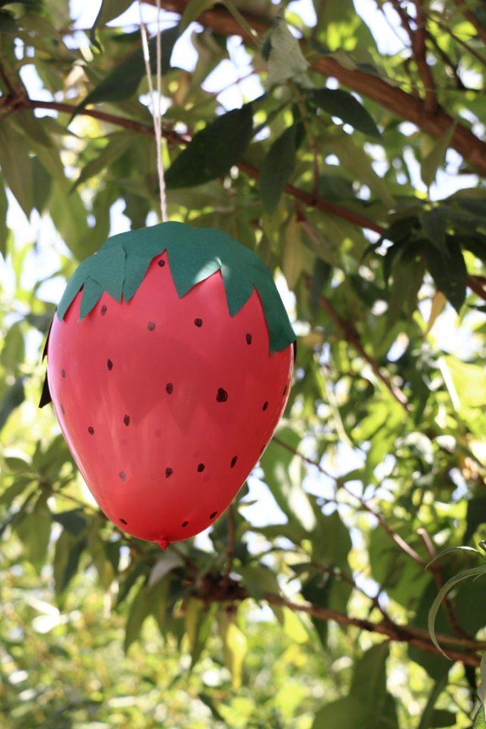 Erdbeerparty Deko Ideen