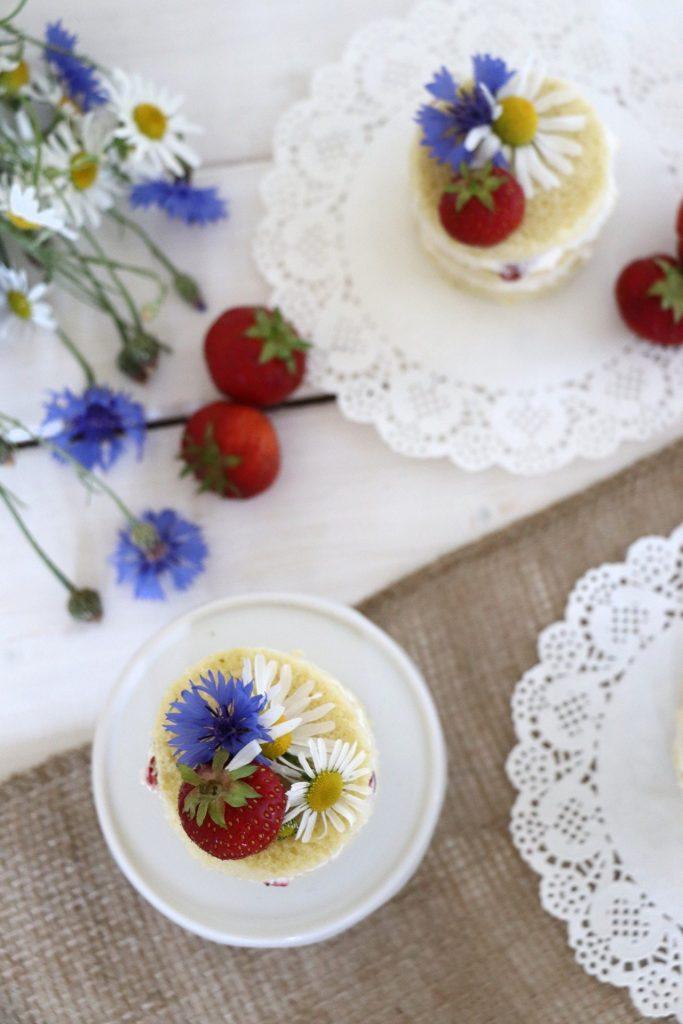 Rezept Erdbeertörtchen