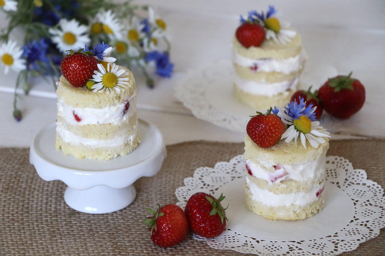 Törtchen Rezept Erdbeeren
