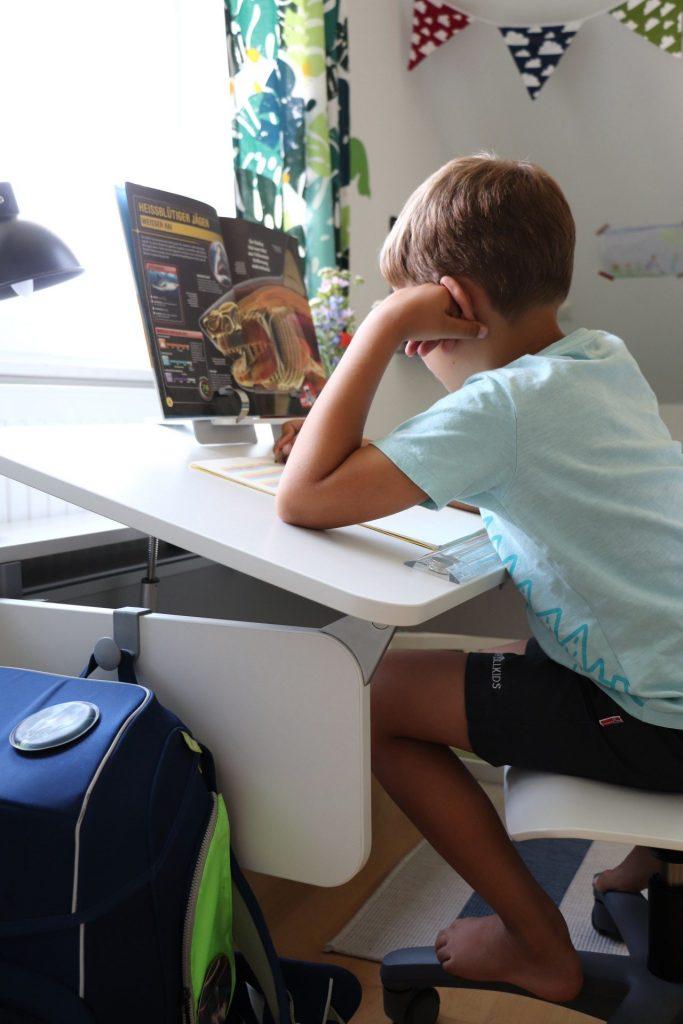 ergonomischer Kinderschreibtisch moll