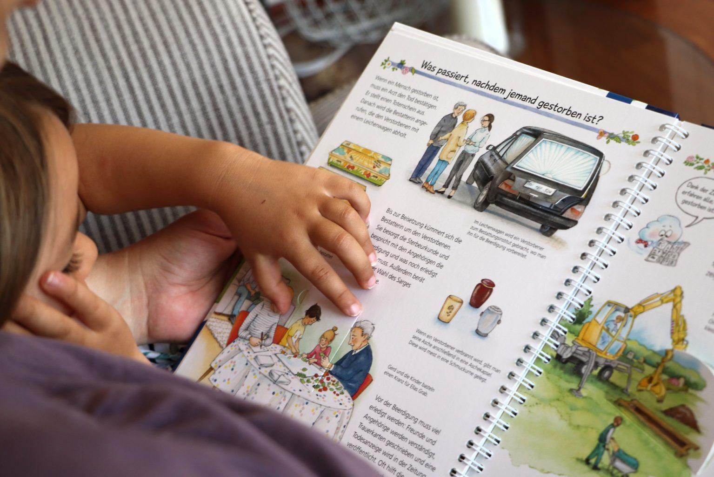 Kinderbuch Sterben