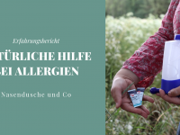 Natürliche Hilfe bei Allergien: Nasespülen und Co