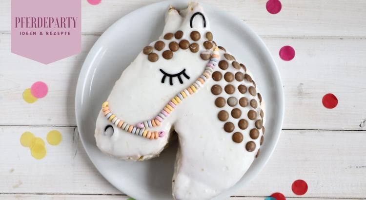 Pferdegeburtstag Kuchen