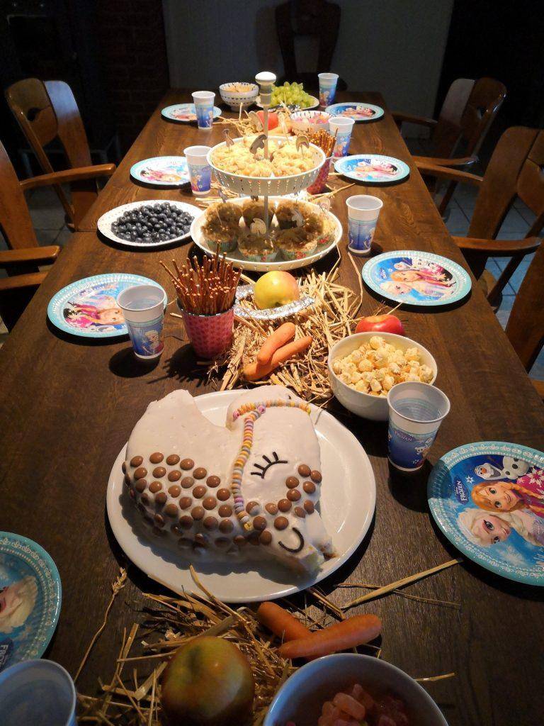 Pferdegeburtstag Tischdeko