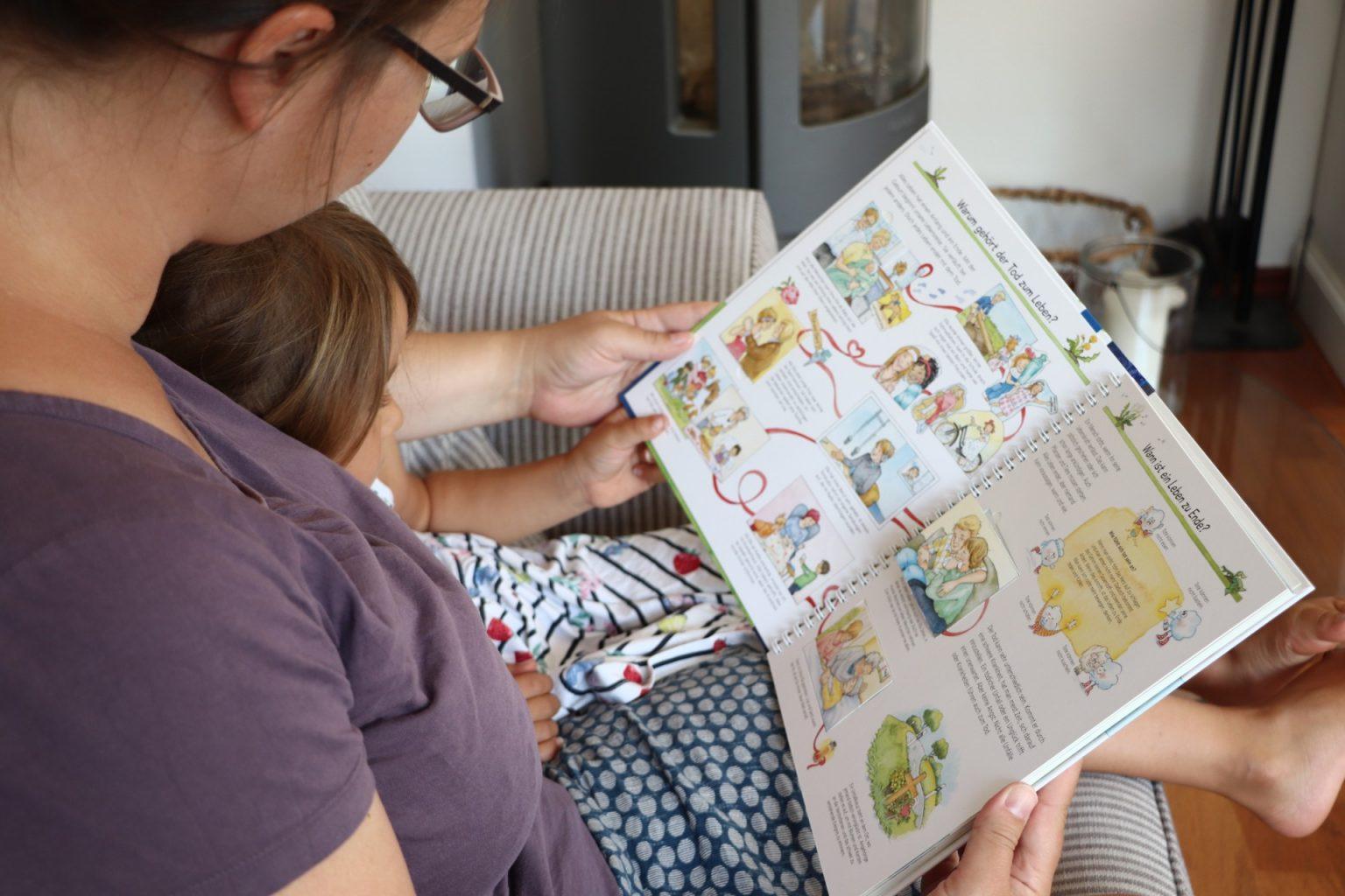 Tod erklären Kinderbuch Tipp