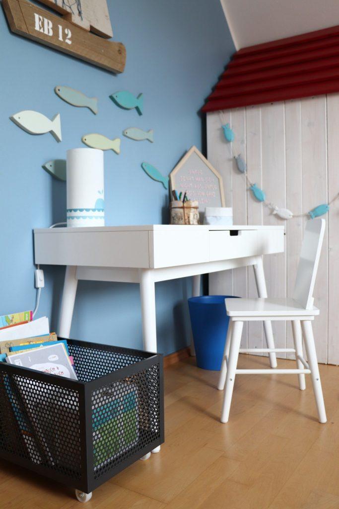 Kinderzimmer einrichten Schreibtisch
