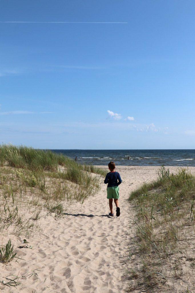 Sandstrand Saaremaa Estland