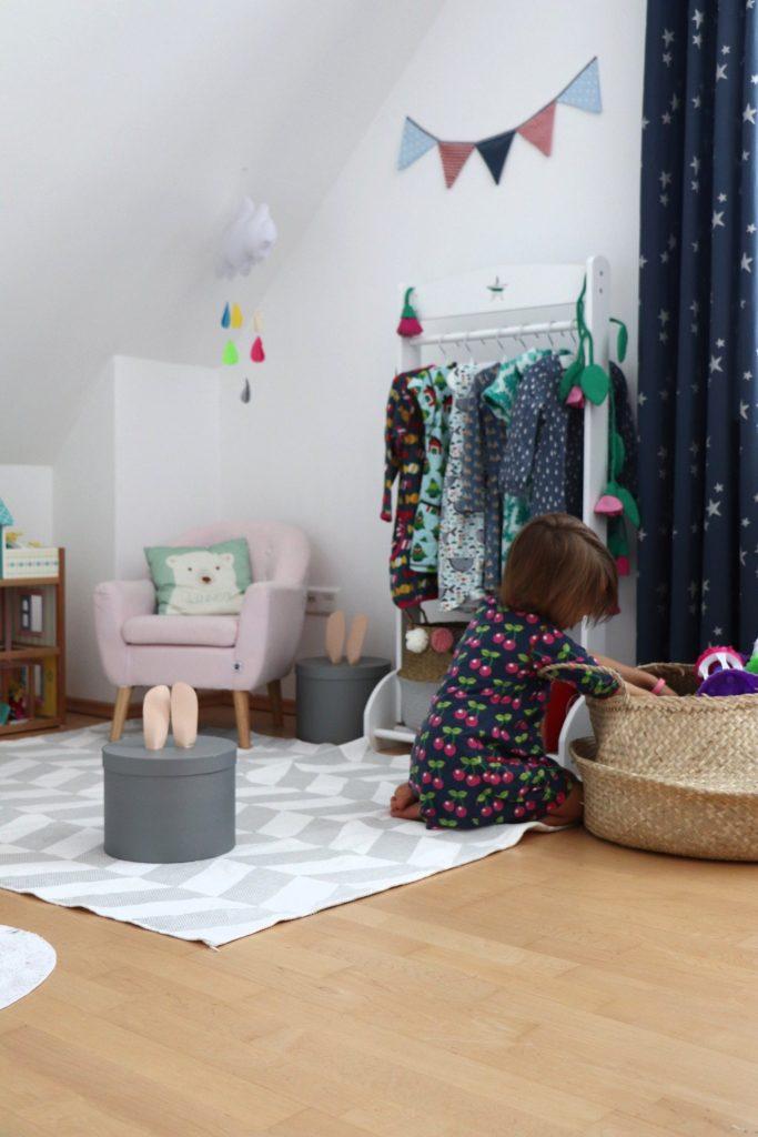 Seegraskorb Kinderzimmer