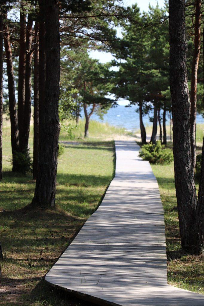 Strand Mändjala Saaremaa