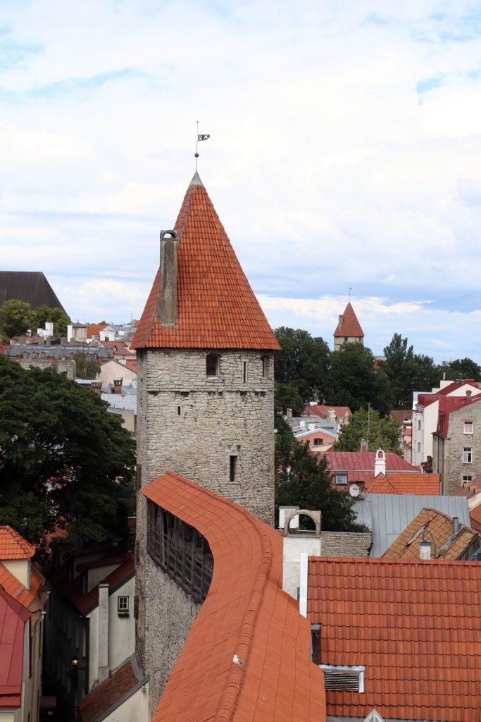 Tallinn Stadtmauer Hellemann-Turm