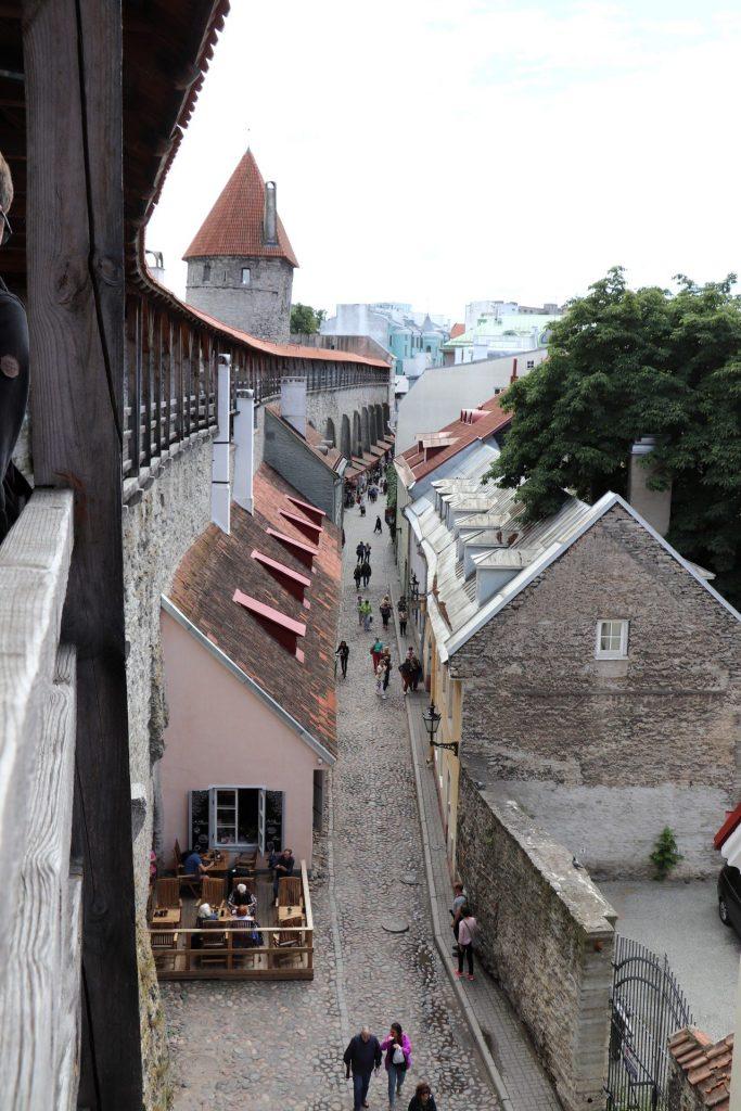 Tallinn Stadtmauer besichtigen