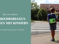 Verkehrsregeln lernen: Kinder auf den Verkehr vorbereiten