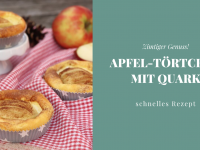Rezept: Apfel-Törtchen mit Quark